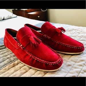 Men's Red Aldo Loafers